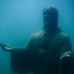 The Submerged Christ in Zihuatanejo
