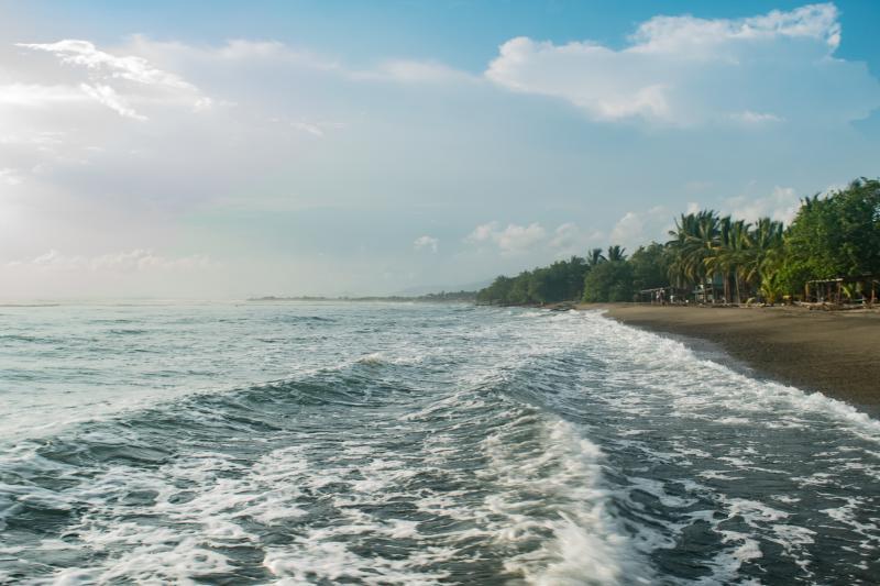 Covers Playa La Saladita Beach