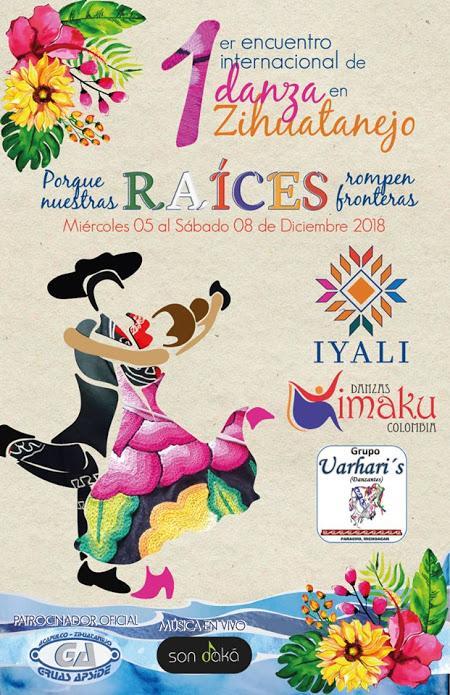 1er Encuentro Internacional de Danza en Zihuatanejo