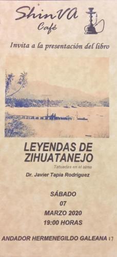 Presentación del libro Leyendas de Zihuatanejo
